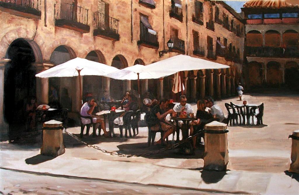 Café en la plaza Web