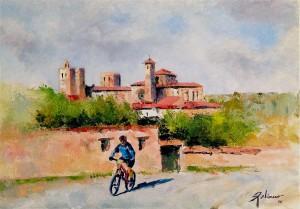 Miguel Bernal pedaleando